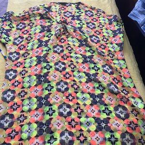 Cover up multicolored
